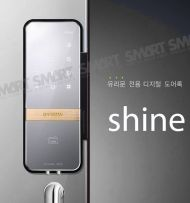 s10 shine for glass door